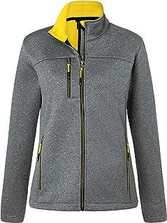James & Nicholson Women's Ladies' Softshell Jacket, Grey