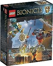 LEGO Bionicle 70795 Mask Maker vs. Skull Grinder Building Kit (Discontinued by manufacturer)