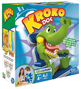 Hasbro Gaming聽-聽Crocodile Dentist, Game of Skill (B04081750) [May not be in English] German Version