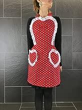キャロリンズキッチン Carolyn's Kitchen スィートハート エプロン レッド