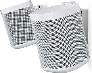 Flexson 653000000000 Väggfäste För Sonos One, Vit, Ett Par