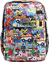 JuJuBe MiniBe Small Backpack, Tokidoki Collection - Sushi Cars