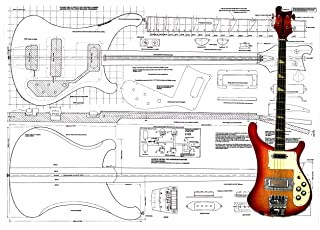 Luthiers Plan To Build Rikki R4001 Series Bass
