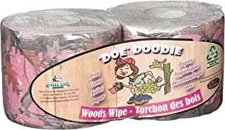 River's Edge Products Rivers Edge Toilet Paper, Pink Camo, 2 Pack