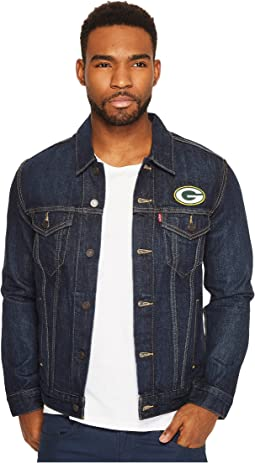 Packers Sports Denim Trucker