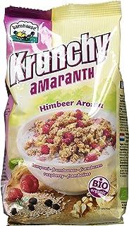 Barnhouse Krunchy Amaranth Himbeer-Aronia, 3er Pack 3 x 375 g - Bio