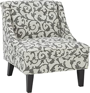 Ashley Furniture Signature Design - Kexlor Accent Chair - Vine Design - Gray