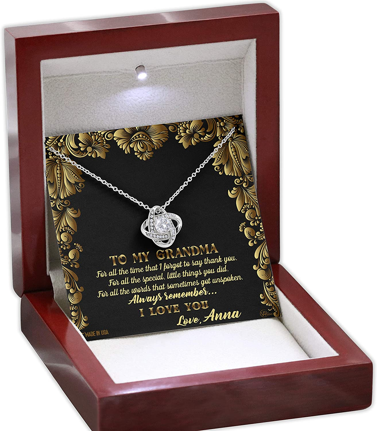 Grandma Royal Floral Vintage Mothers Day Gold In Ideas New product type White NEW before selling 14k