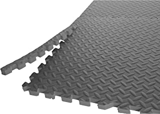 CAP Barbell 3/4-Inch Puzzle Exercise Mat with EVA Foam Interlocking Tiles