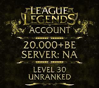 level 30 league of legends account