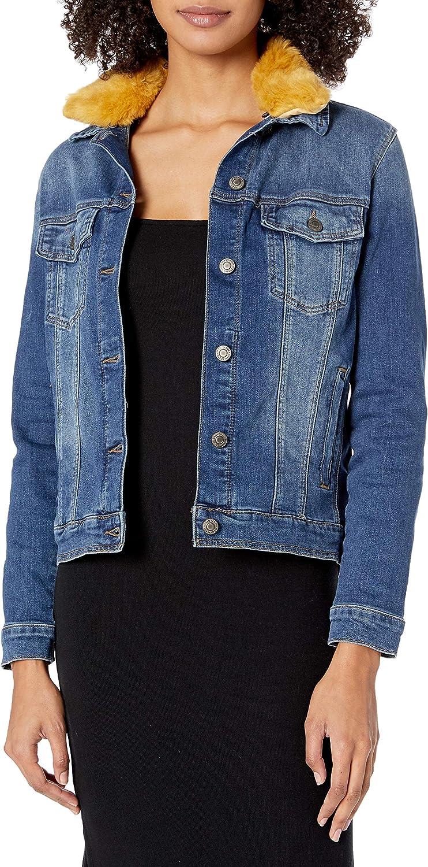 Mavi Women's Katy Classic Fit Denim Jackets