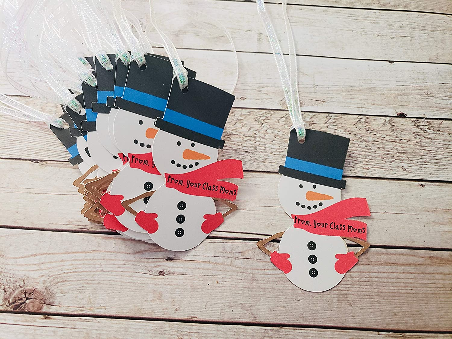 Snowman At the price of surprise Gift Tags. Gorgeous 12 count.