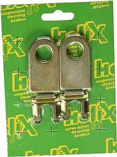 Vintage Parts 63067 Brake Line Tab Kit (4 Tabs and Clips)