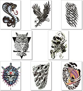 Temporäre Tattoos Tätowierung Für Männer Junge Teens - G