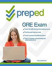 PrepEd GRE Test Prep System 2016 & 2017 (Software, Mobile Apps, Practice, Videos, Web) [Download]