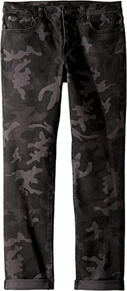 Polo Ralph Lauren Kids - Eldridge Skinny Stretch Jeans in Charcoal (Big Kids)