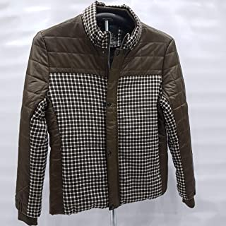 Jacket Men's sport cotton and leather