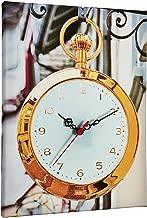 Clock Art Decorative Canvas Wall Clock-30x40 cm