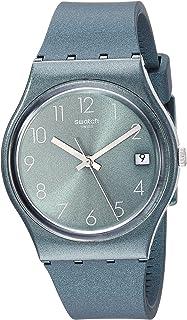 Swatch Core Refresh Quartz Silicone Strap, Green, 16 Casual Watch (Model: GG407)