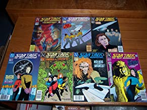 Star Trek The Next Generation 7 issue bundle: The Broken Moon, Red Alert, Reunion...and Revelation, Data for the Defense, Trapped by Madness, Brothers in Darkness, The Hunted (3, 41, 44, 55, 60, 61,62)