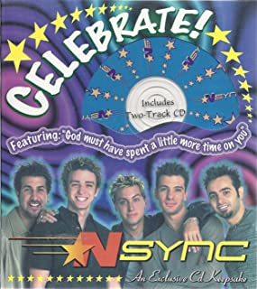 NSYNC CD Keepsake Greeting Card