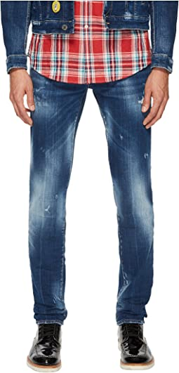DSQUARED2 - Medium Nothing Wash Slim Jeans