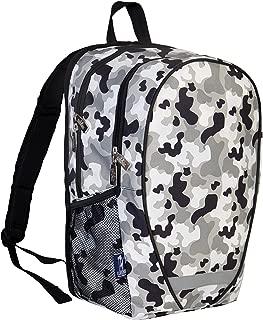 Wildkin Gray Camo 18 Inch Backpack