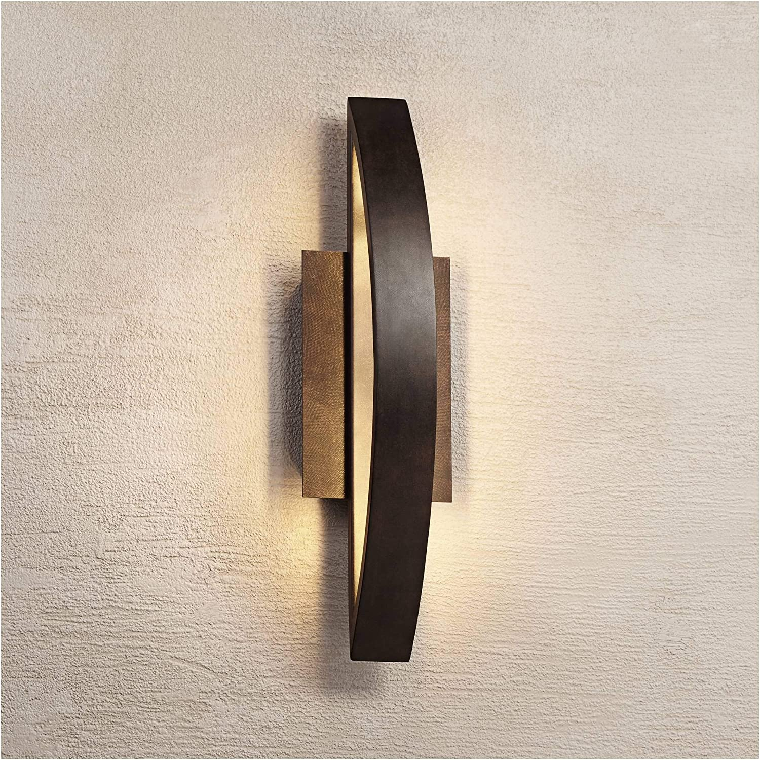 Modern Outdoor Wall Beauty products Light Fixture LED Coppered Ar OFFicial site 20 1 2