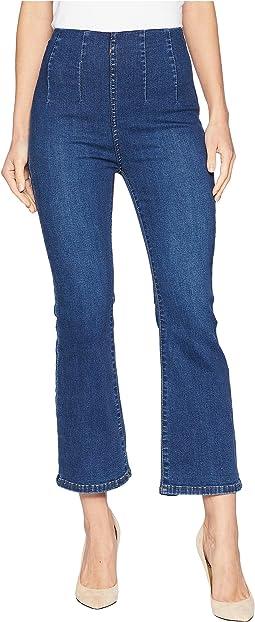Ultra High Crop Boot Jeans