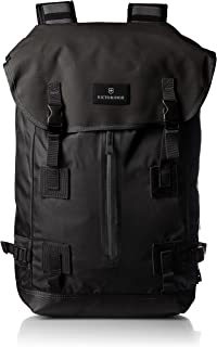 Victorinox Luggage Altmont 3.0 Flapover Drawstring Laptop Backpack, Black, One Size