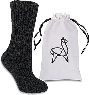 Alparino Alpaca Wool Slipper Socks. Soft, Breathable and Warm Luxury Gift Idea or Indulge Yourself.…