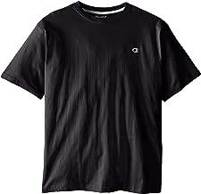 تي شيرت رجالي من Champion برقبة دائرية وطويل -  Big & Tall Crew-neck Jersey T-shirt 2X