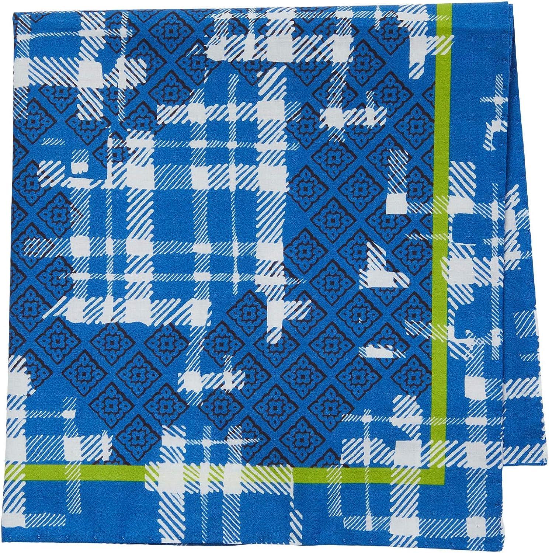 Eton Tweed Print Pocket Square