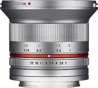 SAMYANG 単焦点広角レンズ 12mm F2.0 シルバー キヤノン EOS M用 APS-C用