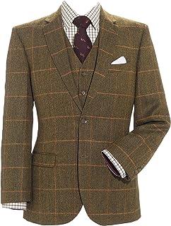 Samuel Windsor Men's 100% Wool Tweed Jackets