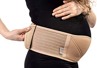 Supportex Pregnancy Maternity Belt - Belly Band for Pregnancy Support - Pelvic and Back Support
