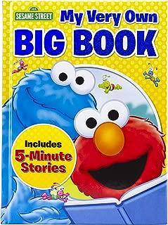 Sesame Street Elmo My Very Own Big Book 5 Minute Stories