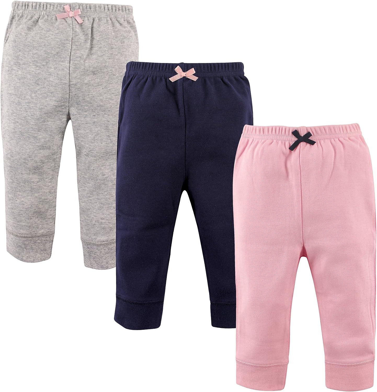 Luvable Friends Unisex Baby Cotton Pants 18-24 Months Blue Gray