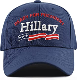 Exclusive 3D Hillary Ready for President President Seal Cap