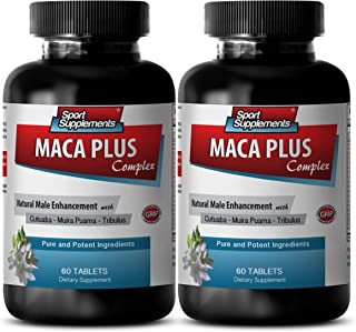 Catuaba and Muira puama - Maca Plus Complex - Promotes Healthy (2 Bottles - 120 Tablets)