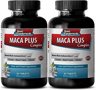 Catuaba bark powder - Maca Plus Complex - Enhance vitality (2 Bottles - 120 Tablets)