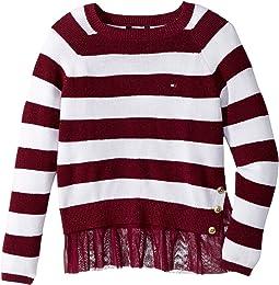 Tommy Hilfiger Kids - Rib Pullover (Big Kids)