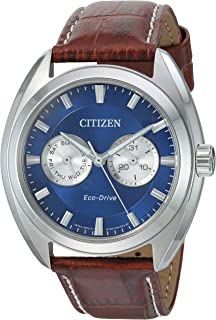 Citizen Men's Eco-Drive Stainless Steel Watch with Day/Date, BU4010-05L