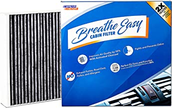Spearhead Premium Breathe Easy Cabin Filter, Up to 25% Longer Life w/Activated Carbon (BE-775B)