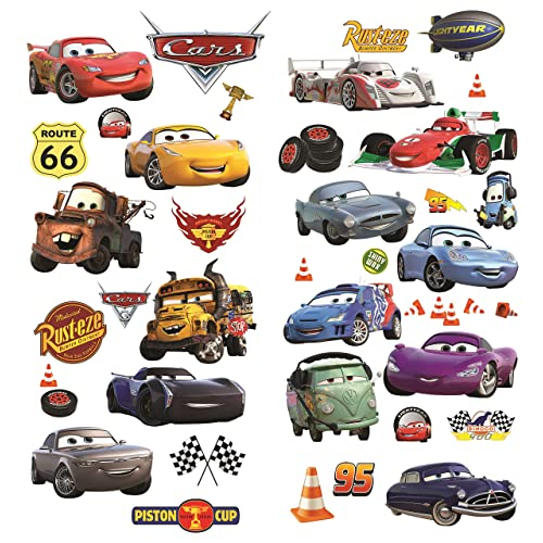 Multicolore Vinyle Mater Peel /& Stick Giant Wall Decal REPOSITIONNABLES Thedecofactory RMK1519GM Stickers Cars 104 x 46 x 0,1 cm