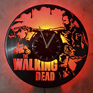 Walking Dead Night Light Wall Lights Wall Clock The Best Serial Room Interior Idea Perfect Gift for Any Event