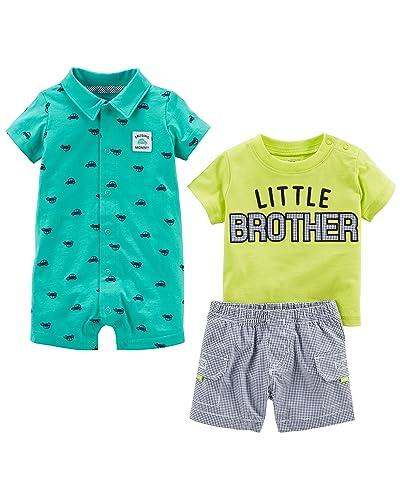 7dda3abd09b7 Carter s Baby Boy Clothes 12 Months 3 Piece Set  Amazon.com