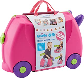 Trunki Children's Ride-On Suitcase & Hand Luggage, Trixie, Pink