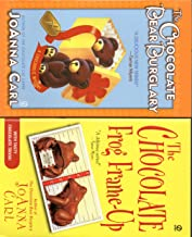 Joanna Carl 4 Book Set; Chocoholic Mystery the Chocolate Bear Burglary, the Chocolate Frog Frame-up, the Chocolate Puppy P...