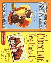 Joanna Carl 4 Book Set; Chocoholic Mystery the Chocolate Bear Burglary, the Chocolate Frog Frame-up, the Chocolate Puppy P...
